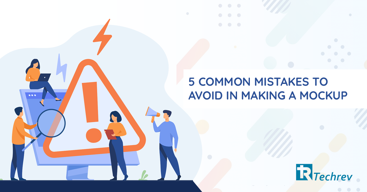 5 common mistakes while making mockups